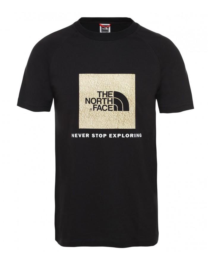 t-shirt à manches raglan redbox pour homme