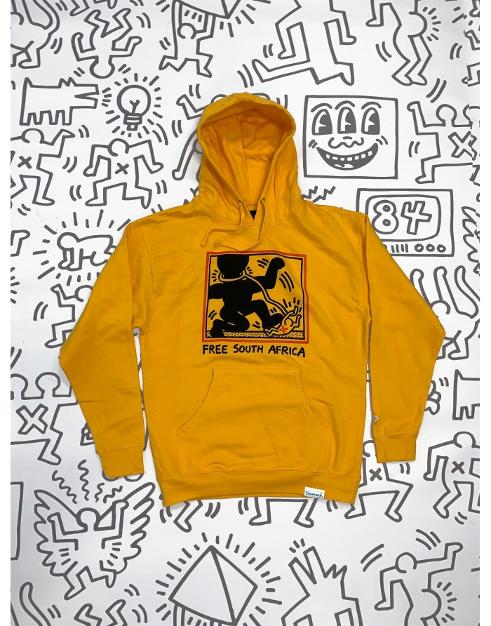 dmnd x keith haring south africa hoodie
