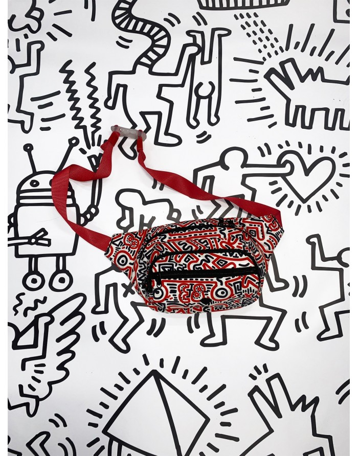 dmnd x 83 keith haring fanny pack