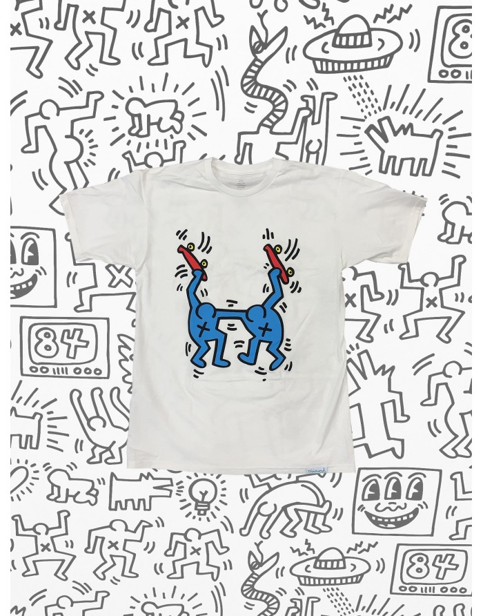 dmnd x keith haring stand togther tee
