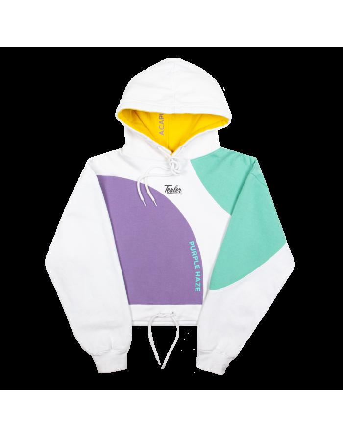 colorwave crop hoodie