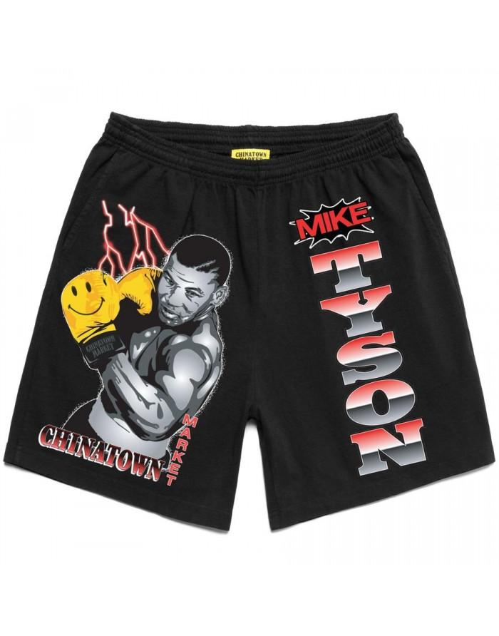 smiley boxing shorts