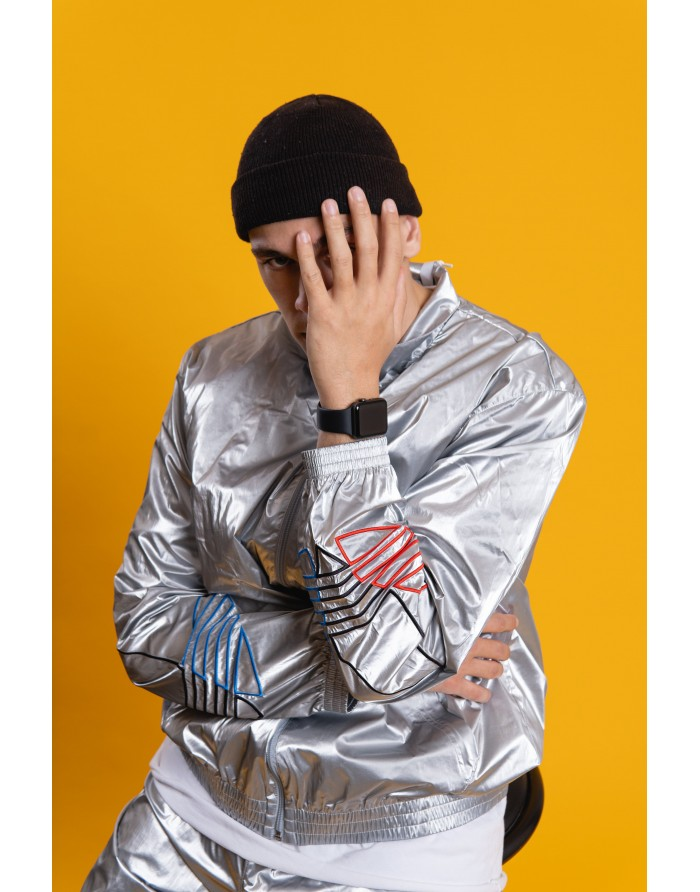 adidas veste de survêtement adicolor tricolor