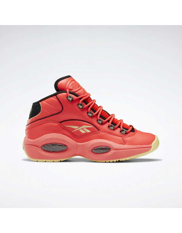 """reebok question mid x hot ones """"the last dab""""."""