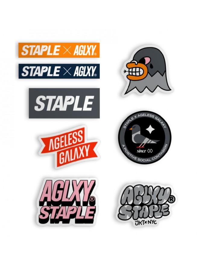 aglxy x staple aglxy stapple sticker pack