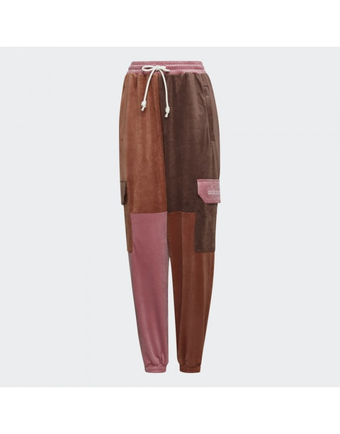 adidas pantalon cargo velours peau de pêche