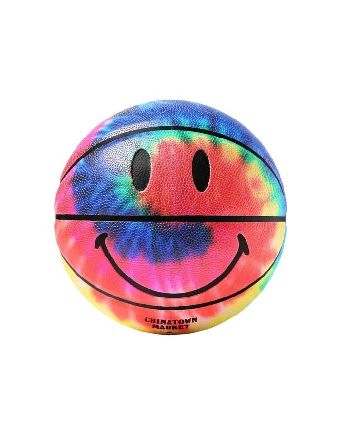 chinatown market smiley tie dye basketball