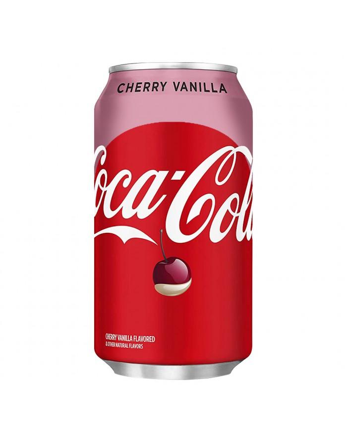 coca-cola soda cerise vanille
