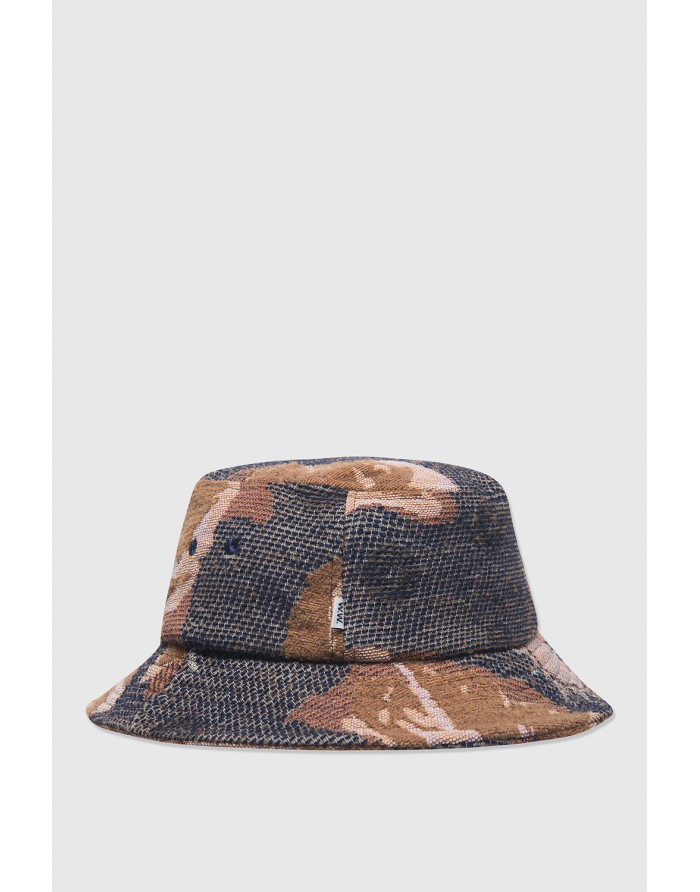 wood wood ossian jacquard bucket hat
