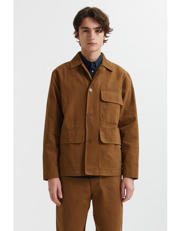 wood wood bosco twill jacket